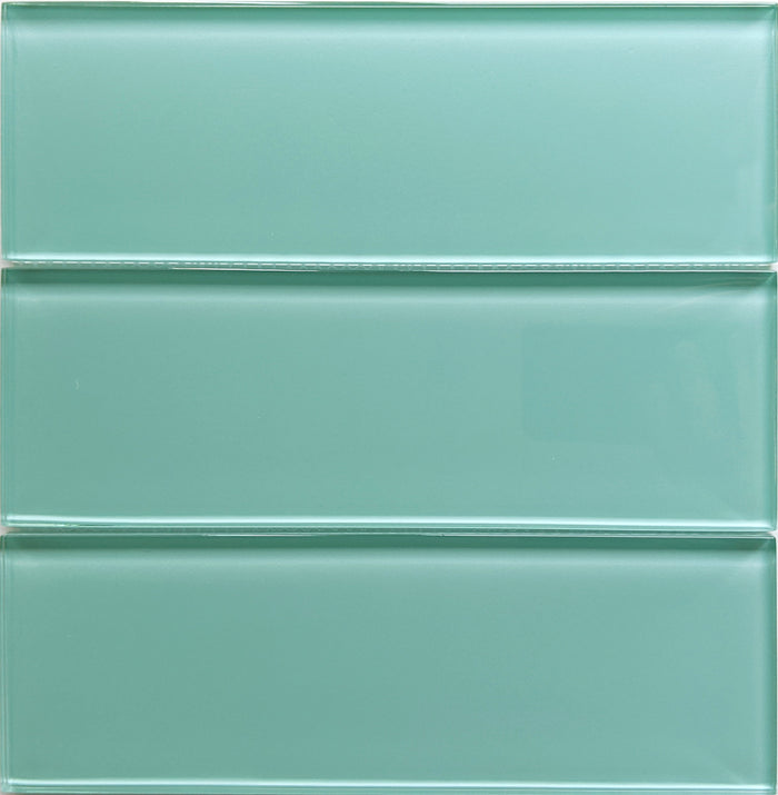 Lush Glass Subway Tile | Pool 3x9