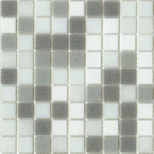 Modwalls Brio Glass Mosaic Tile | Metro Blend | Modern tile for backsplashes, kitchens, bathrooms, showers, pools, outdoor and floors
