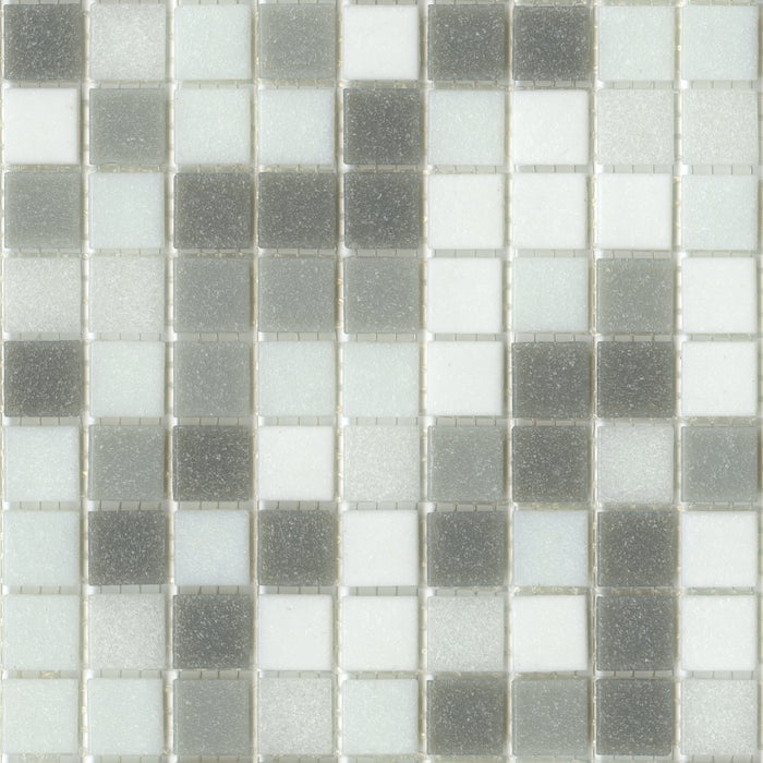Brio Glass Mosaic Tile | Metro Blend