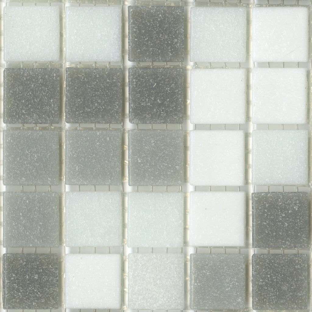 Modwalls Sample of Brio Glass Mosaic Tile | Metro Blend