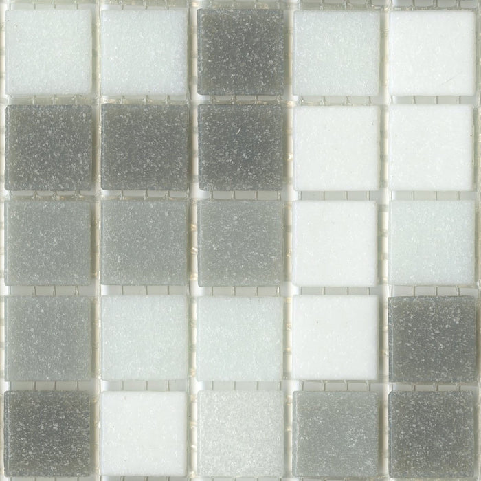Sample of Brio Glass Mosaic Tile | Metro Blend