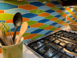 Kiln Ceramic Minnow Tile | 103 Colors