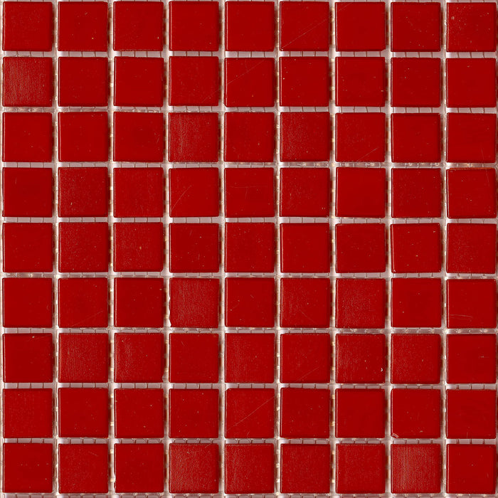 Brio Glass Mosaic Tile |  Paprika
