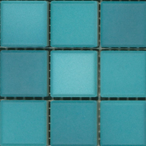 Sample of Mediterranean Mosaic Tile | San Tropez Blend Matte