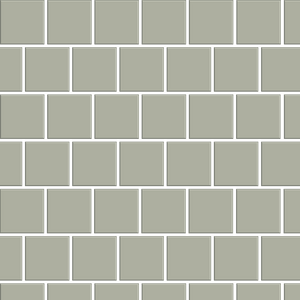 Basis Mosaic 2x2 Offset Ceramic Tile | 40+ Colors