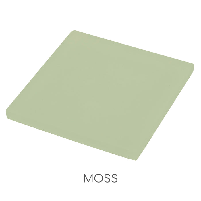 Sample of Oasis Moss Square Glass Tile | Oasis Glass Tile