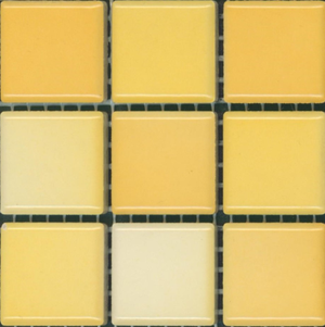 Sample of Mediterranean Mosaic Tile | Tangier Blend Gloss
