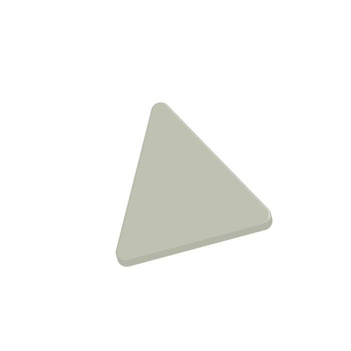 "Basis Triangle 6"" Ceramic Tile 
