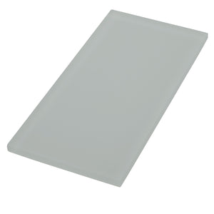 Oasis Tropical Rain Textured Matte 4x8 Glass Tile – this gray tile can be used for kitchen, backsplash, bathroom, shower, residential floor, or pool installations.