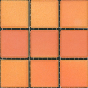 Sample of Mediterranean Mosaic Tile | Valencia Blend Matte