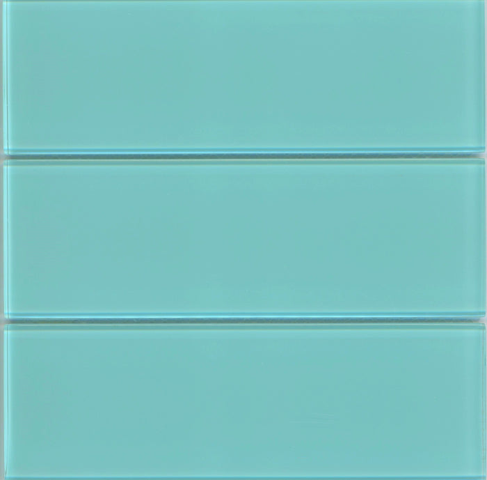 Lush Glass Subway Tile | Breaker 4x12