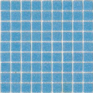 Modwalls Brio Glass Mosaic Tile |  Blue Skies | Modern tile for backsplashes, kitchens, bathrooms, showers, pools, outdoor and floors