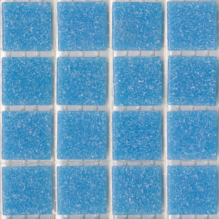 Sample of Brio Glass Mosaic Tile | Turquoise