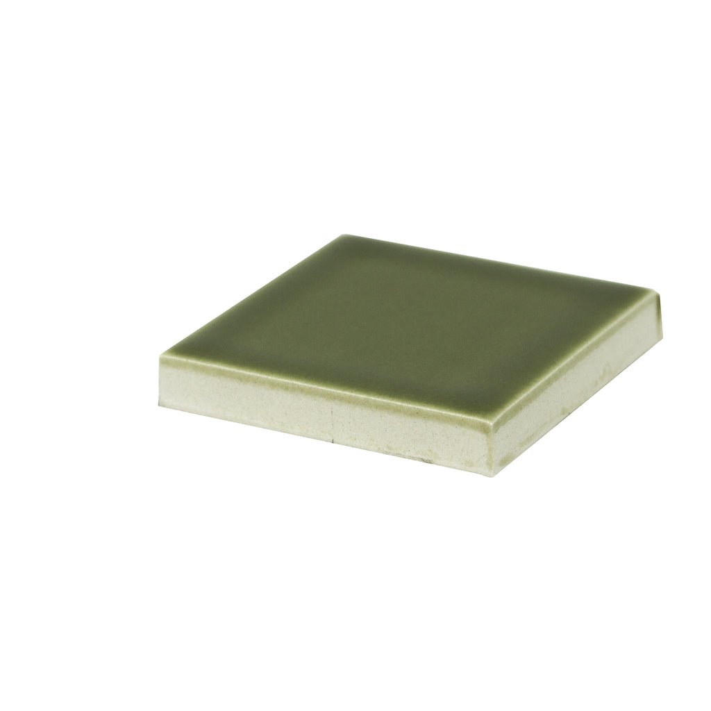 Modwalls Sample Kiln/Clayhaus Ceramic Collections Color Chip | Olive Green