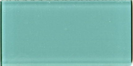 Sample Lush Glass Subway Tile | Pool 3x6