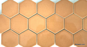 "Modwalls Basis Hexagon 3"" Ceramic Floor Tile 