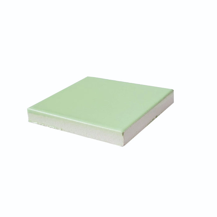 Color Chip | Kiln & Clayhaus Ceramic | Green Tea Matte