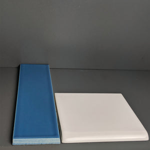 Kiln Ceramic Bullnose Tile | 105+ Colors
