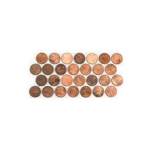 Real Penny Mosaic Tile | Sample