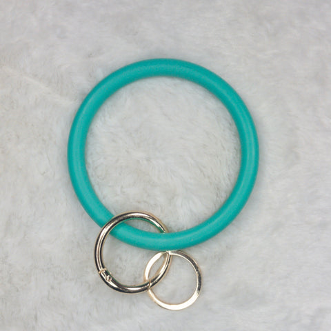 Elastic Wrist Key Chain in Turquoise - True Bliss Boutique