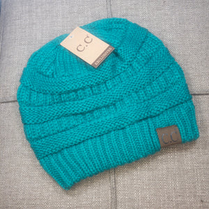 CC Beanie in Sea Green - Original Style - True Bliss Boutique