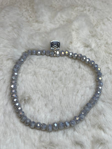 Mix Mercantile - Light Grey 4mm Bead