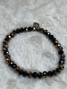 Mix Mercantile - Black and Brown 6mm Bead