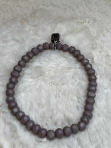 Mix Mercantile - Matte Lavender Grey 6mm Bead