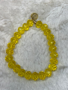 Erimish Beaded Bracelet Lemon - Game Day Collection