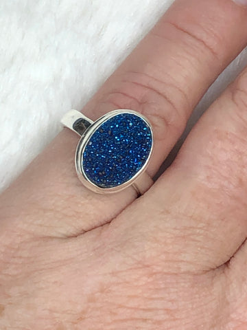 Druzy Ring Round TB-175 - True Bliss Boutique