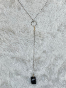 Charlen K Y Onyx Necklace - True Bliss Boutique