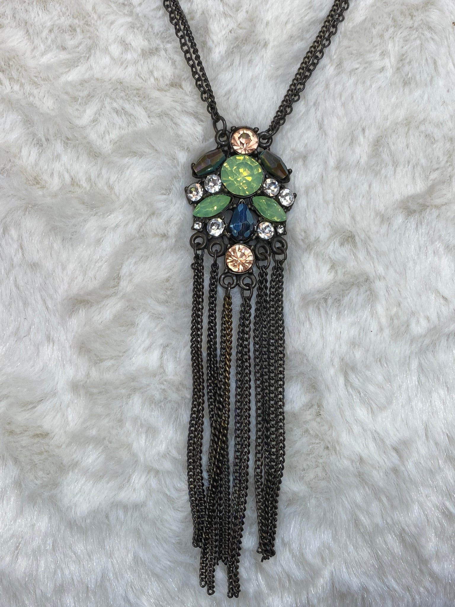 Antique Look Necklace - True Bliss Boutique