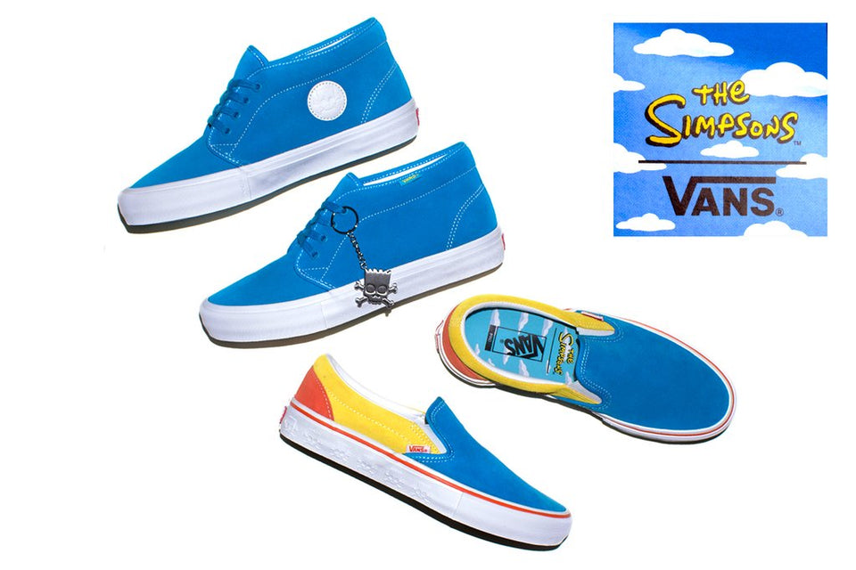 Simpsons X Vans Collection