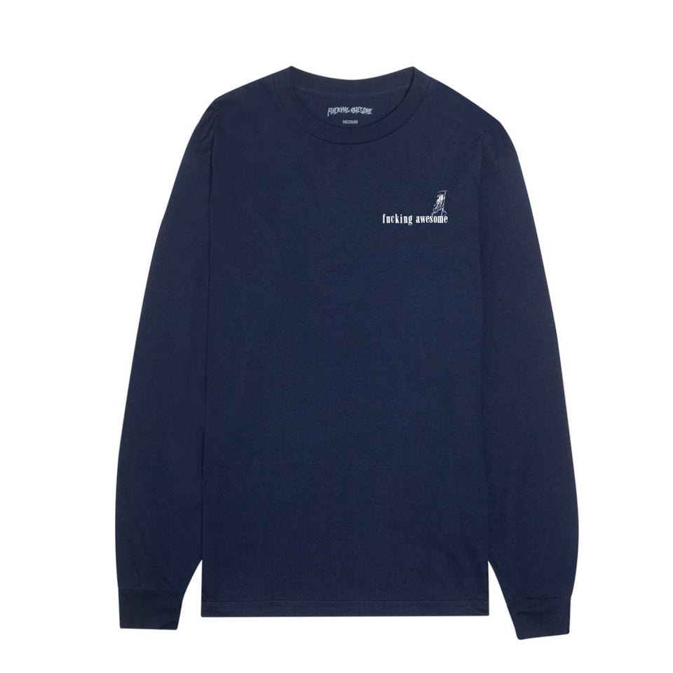 Fucking Awesome - Wizards Long Sleeve (Navy)