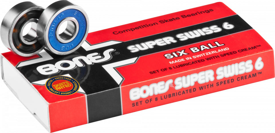 Bones - Swiss 6 Bearings