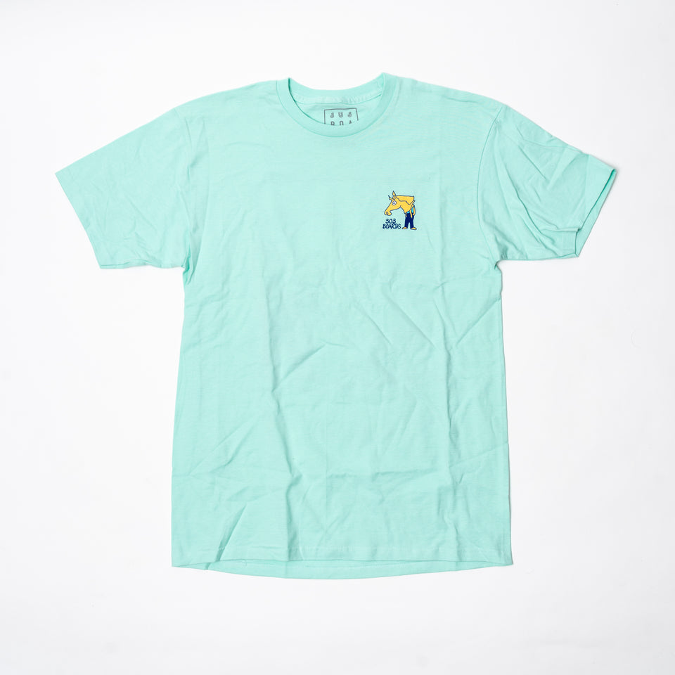 303 Boards - 303 Boards X Gonz Shirt (Turquoise) (SALE)