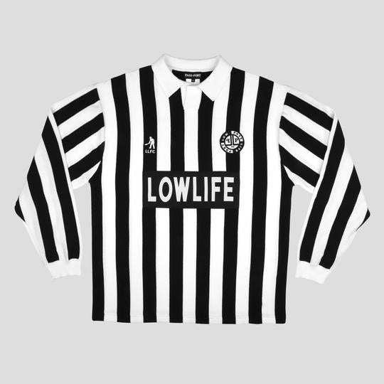 "Pass Port - Low Life ""L.L.F.C."" Jersey (Black/White)"