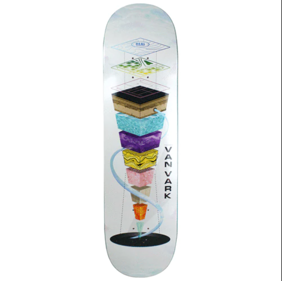 "Real - Tanner Topography Deck (8.25"")"