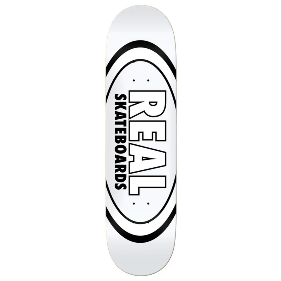 "Real - Classic Oval Deck (8.38"")"