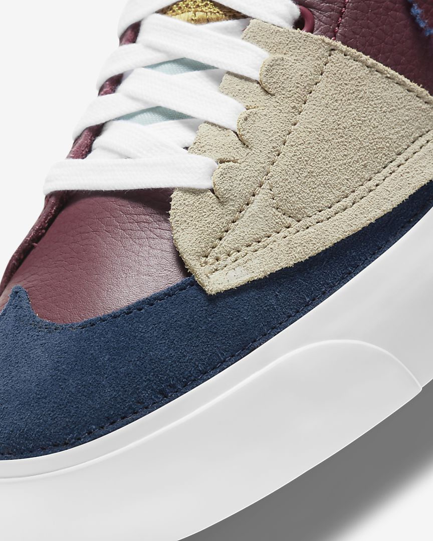 Nike SB - Zoom Blazer Mid Edge (Team Red/Light Dew/Summit White/Navy)