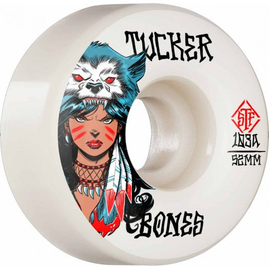 Bones Wheels - Tucker We Are Wolves V1 103 STF 52MM