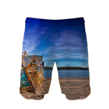 Beautiful Boat Swim Trunks