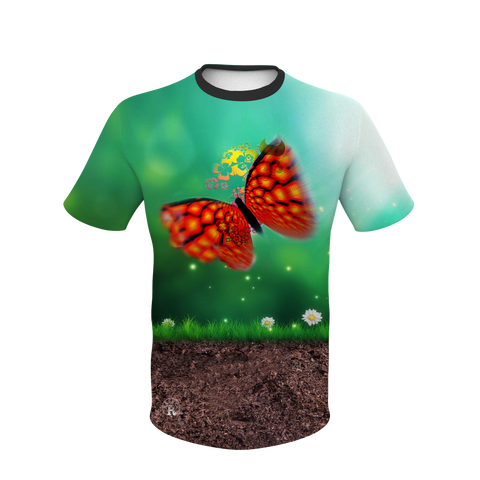 Red Butterfly T-Shirt