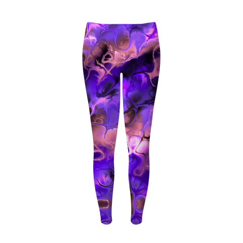 Purple and Pink Paradise Leggings