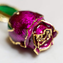 Load image into Gallery viewer, 24K Gold Dipped Rose