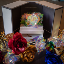 Load image into Gallery viewer, Galaxy Rose Jewelry Box