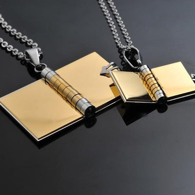 Our Story Necklace Set