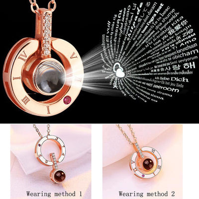 Pokitme 100 Love Language Necklace