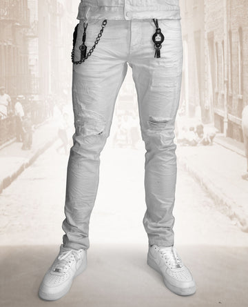 Smugglers White Lightening denim