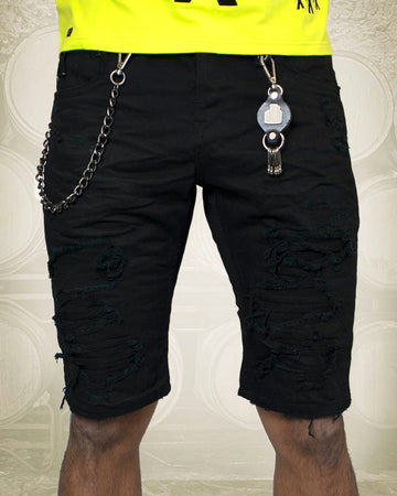 City Gin Denim Short